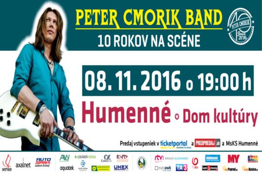 d7af614d4ddf Peter Cmorik Band 10 rokov na scéne
