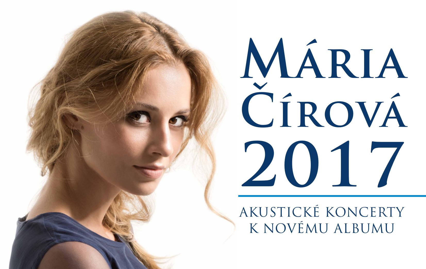 68a6e7e6a1 MÁRIA ČÍROVÁ  2017 Akustický koncert k novému albumu v Žiline